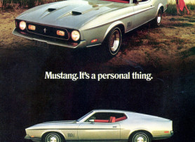 Mustang. It's a Personal Thing