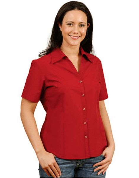 Ladies-Short-Sleeve-Shirt