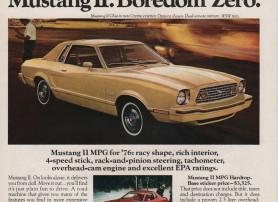 Mustang II. Boredom Zero