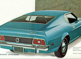 1973 Ford Mustang Sportsroof