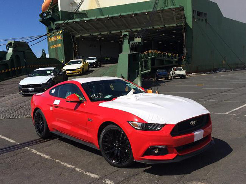 Ford Mustang in Australia 08