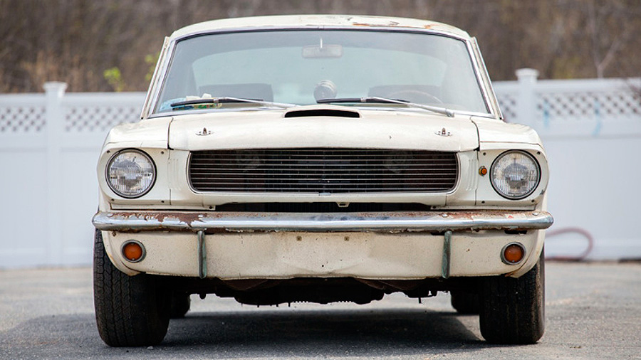 This Shelby Hasn't Seen Daylight for 40 Years