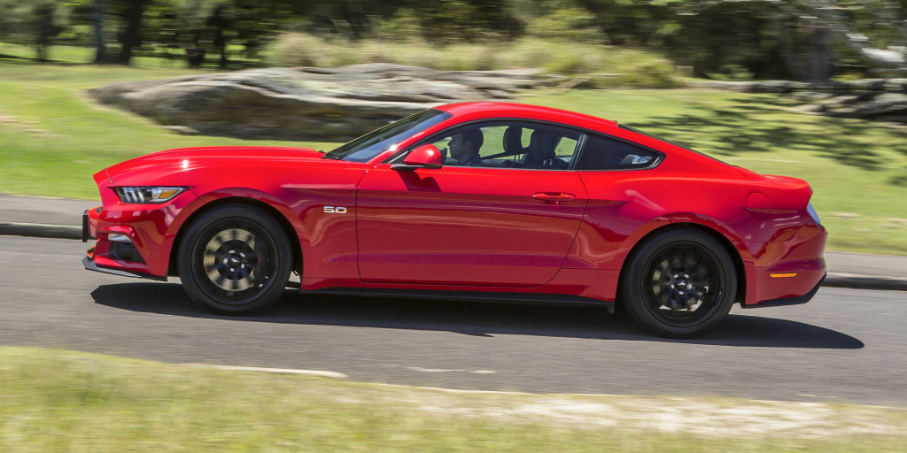 Mustangs On The Move 2016 Ford Mustang