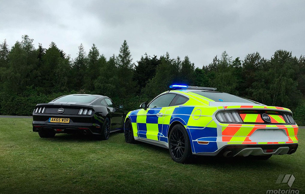 British Police Ford Mustang