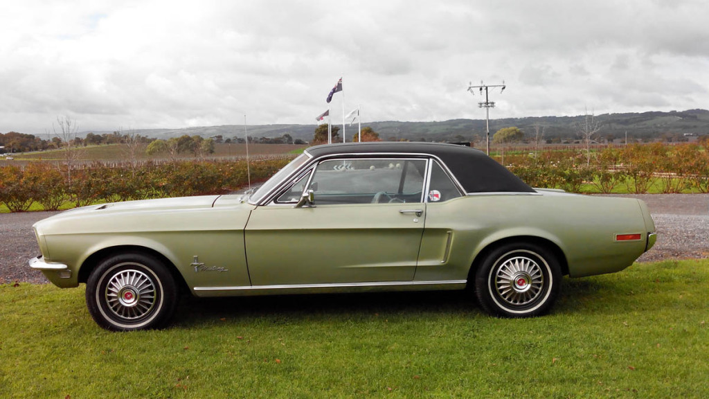 Mustangs On The Move - 1968 Mustang Coupe For Sale