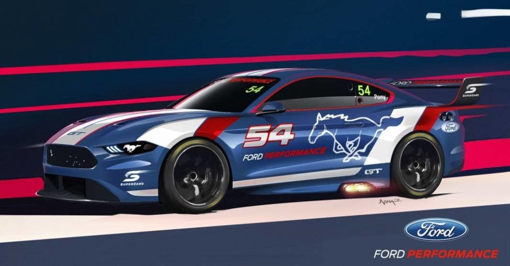 Ford Mustang returns to Supercars 01