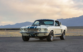 "Shelby American ""Reintroduces"" 1967 Ford Shelby Gt500 Super Snake"