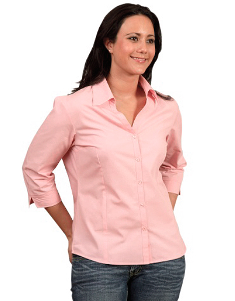 Ladies-Three-Quarter-Sleeve-Shirt