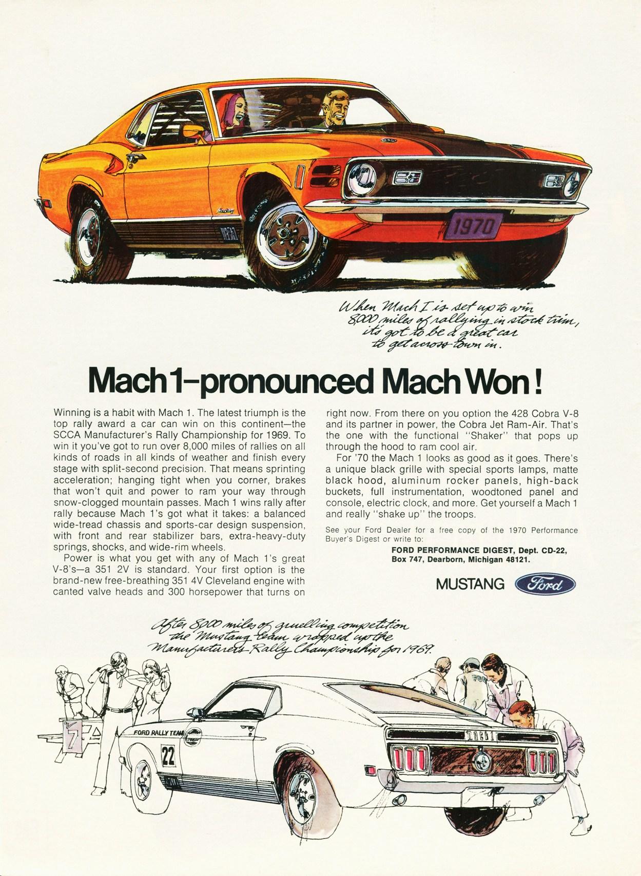 1970 Mach 1