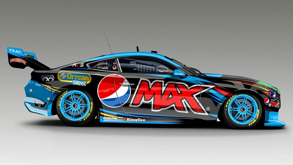 Mustang V8 Supercar In 2017 Mustangs On The Move