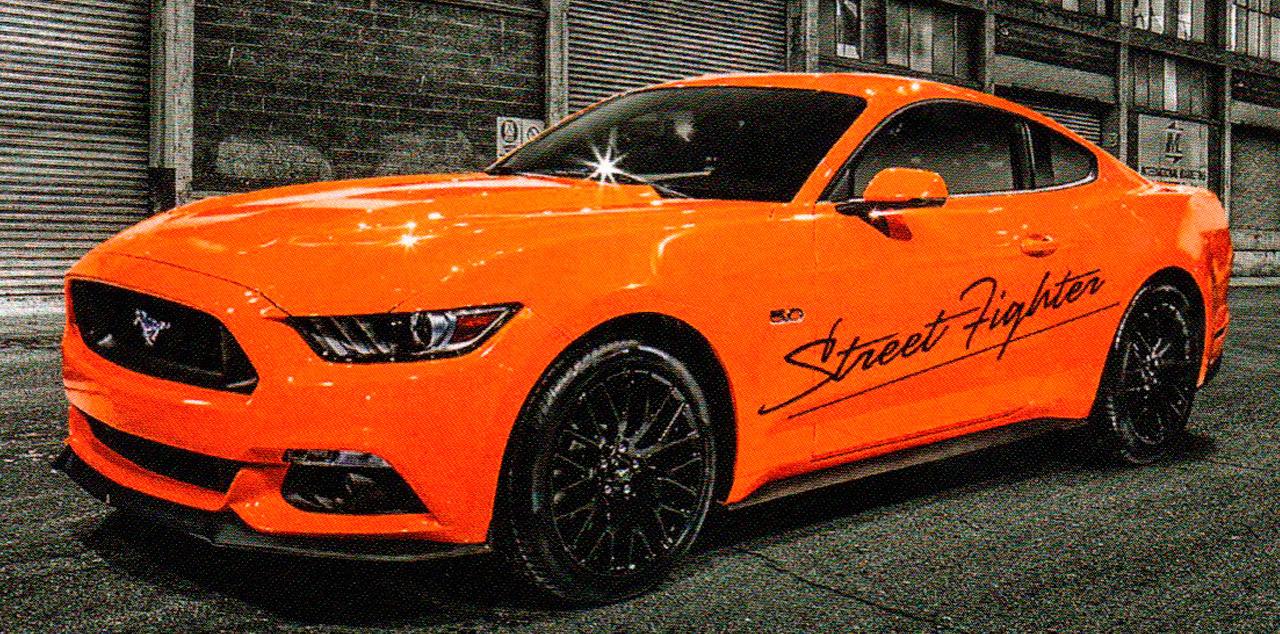 KPM Motorsport Mustang Launch Night 22nd July 2015