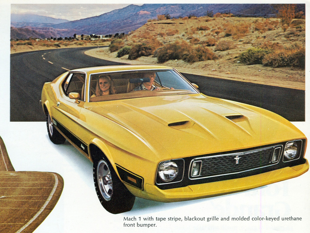 1973 ford mustang mach 1 mustangs on the move. Black Bedroom Furniture Sets. Home Design Ideas