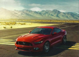 Ford Mustang Advertising 2015 Launch