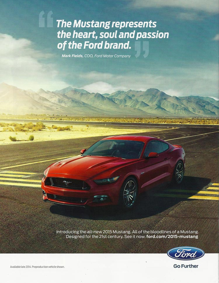 Ford Mustang Advertising 2017 Launch