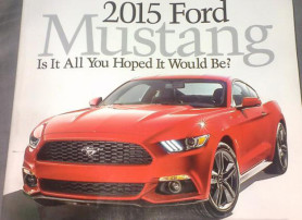 Ford Mustang Advertising 2015 Sneak Peek