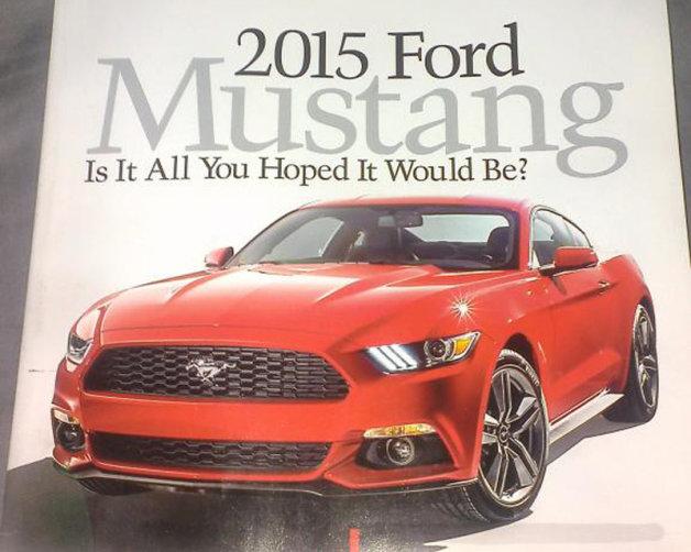 Ford Mustang Advertising 2015 Sneak Peek