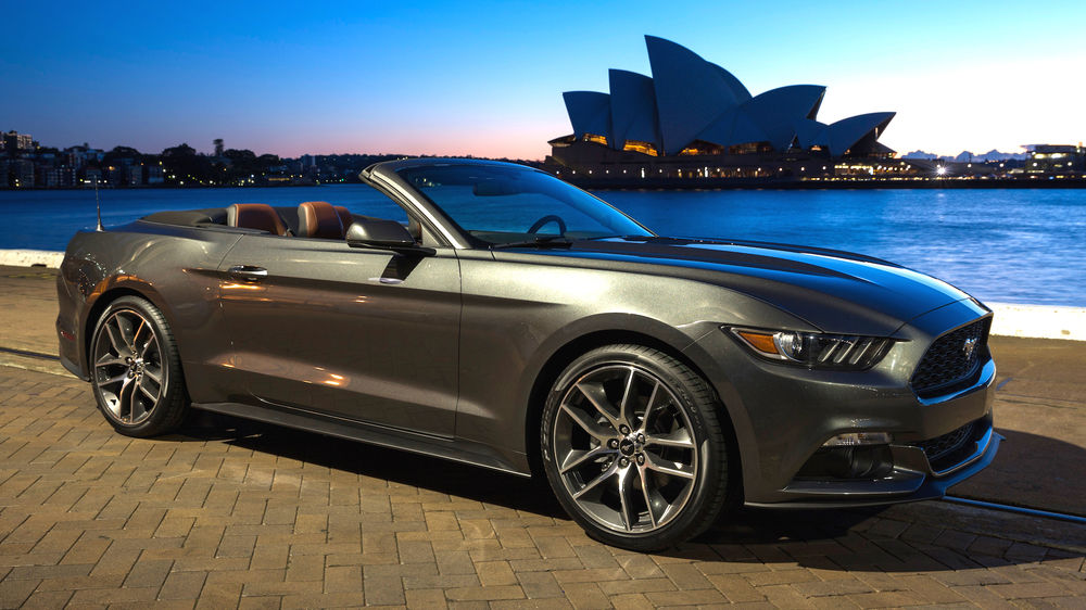 New Ford Mustang Arrives In Australia