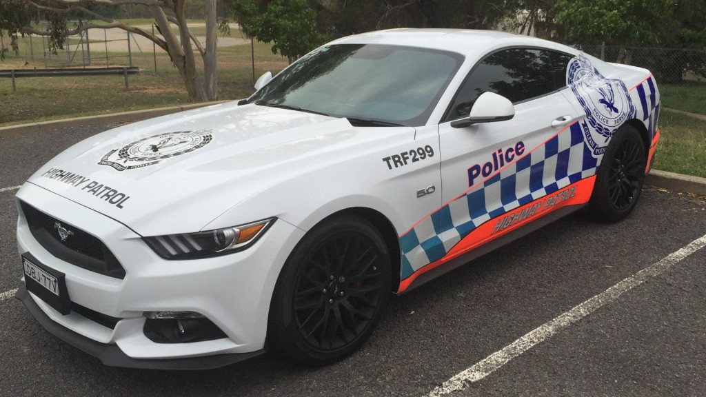 nsw police ford mustang