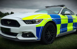 British Police to get Ford Mustangs
