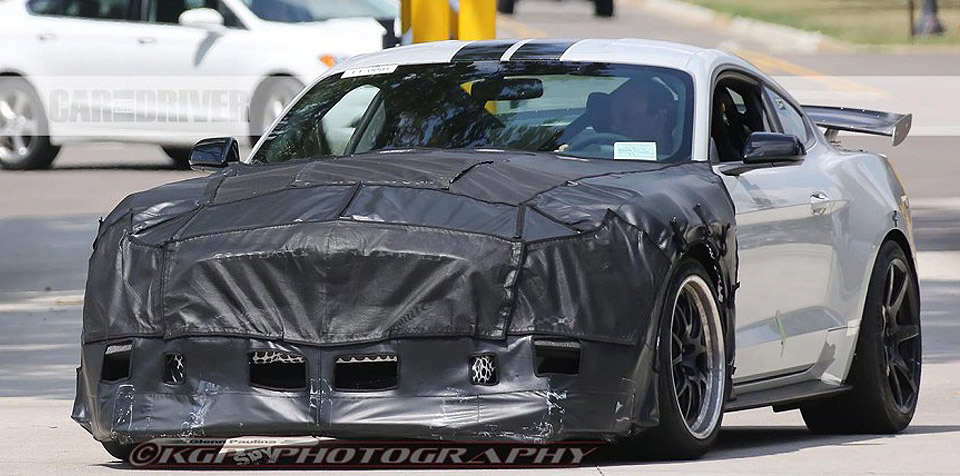 2018 Mustang Spied in the US