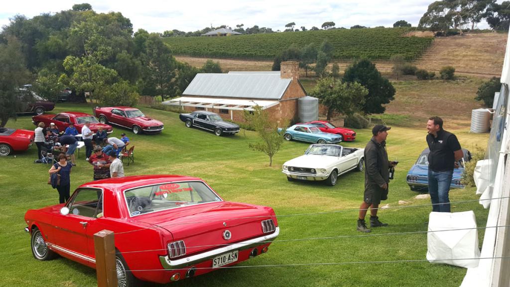 Mustangs On The Move 2017 McLaren Vale Vintage & Classic