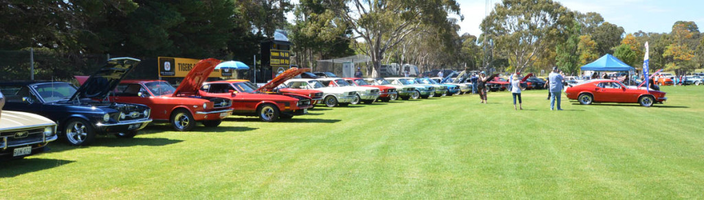 Mustangs On The Move Yankalilla Cruise 2016