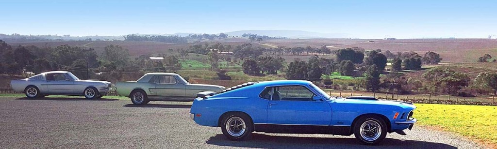 Mustangs On The Move Clare Valley Caper