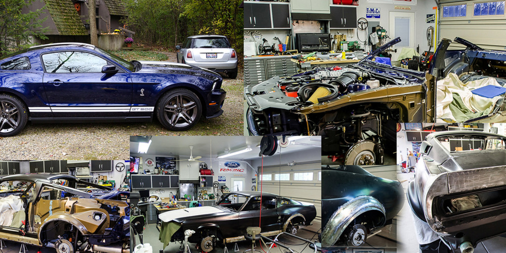 Transforming a 2012 Shelby Mustang into a 1967 Shelby Mustang