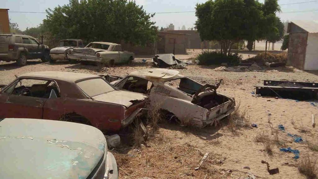 Bullitt Mustang Found in Wrecking Yard