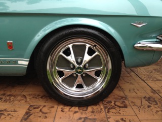 1966 Mustang Pirelli PZero Wheels Feb 2019
