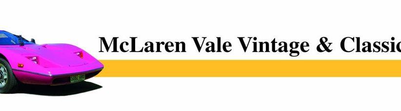 McLaren Vale Vintage & Classic - Sunday 7th April